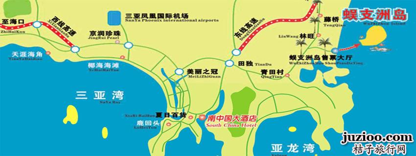 景区资讯:三亚蜈支洲岛班车(免费)接送通知 更多活动.